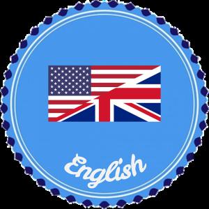 america brit english badge